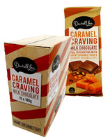Darrell Lea Caramel Craving Block (15 x 180g Blocks in a display box)