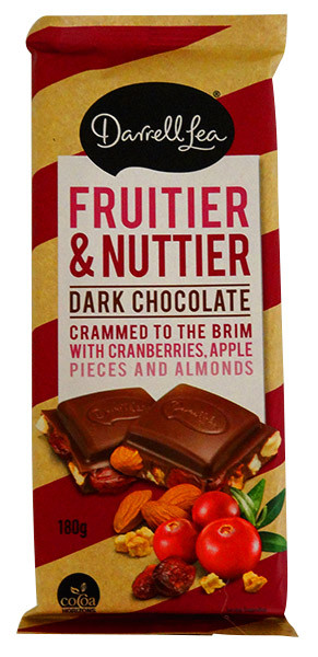 Darrell Lea Fruit and Nuttier Block, by Darrell Lea,  and more Confectionery at The Professors Online Lolly Shop. (Image Number :13823)
