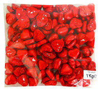 Laica Foil Covered Chocolate Hearts - Red and more Confectionery at The Professors Online Lolly Shop. (Image Number :13836)