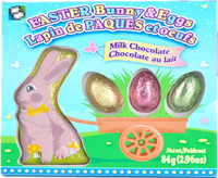Easter Bunny & Eggs in a box (84g)