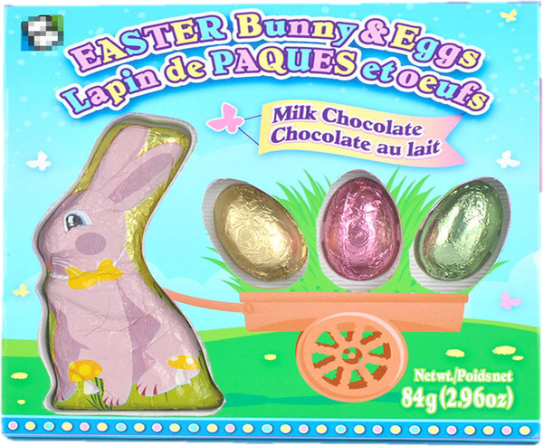 Easter Bunny & Eggs in a box and more Confectionery at The Professors Online Lolly Shop. (Image Number :14044)