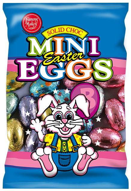 Milk Choc Mini Eggs and more Confectionery at The Professors Online Lolly Shop. (Image Number :14041)