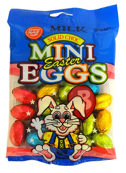 Milk Choc Mini Eggs and more Confectionery at The Professors Online Lolly Shop. (Image Number :14634)
