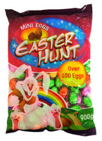 Easter Hunt - Mini Solid Milk Choc Eggs - and more Confectionery at The Professors Online Lolly Shop. (Image Number :14599)