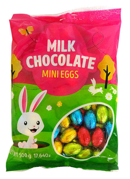 Mini Eggs - Milk Chocolate and more Confectionery at The Professors Online Lolly Shop. (Image Number :14633)