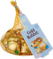 Gold Easter Bunny's Net - Milk Chocolate (40 x 78g bag)