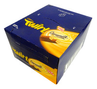 Cadbury Caramilk Twirl - Four Pack, by Cadbury,  and more Confectionery at The Professors Online Lolly Shop. (Image Number :14219)