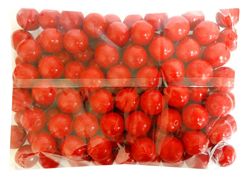 Candy Showcase Gumballs - Red, by Lolliland,  and more Confectionery at The Professors Online Lolly Shop. (Image Number :14422)