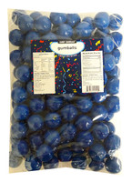 Candy Showcase Gumballs - Royal Blue (907g Bag)