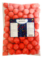 Candy Showcase  Gumballs - Bright Pink (907g Bag)