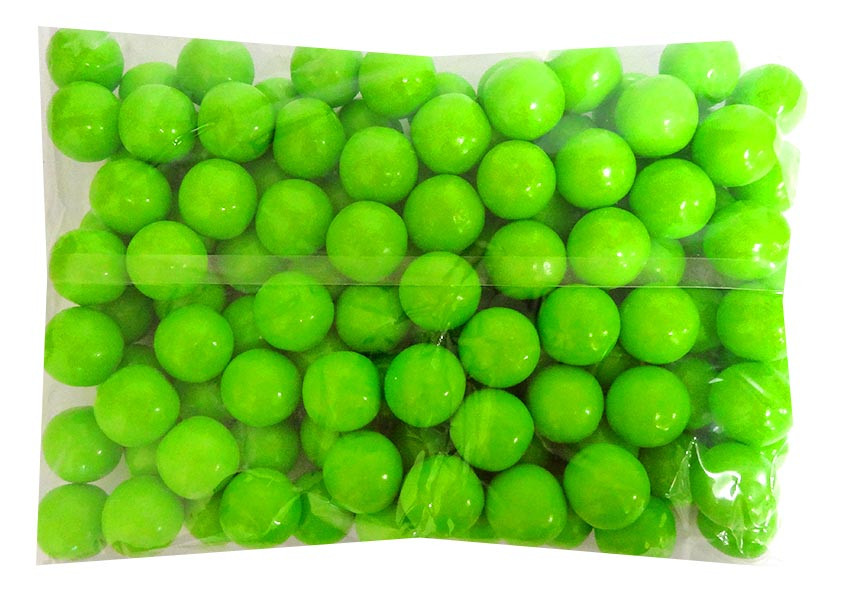 Candy Showcase Gumballs - Lime Green, by Lolliland,  and more Confectionery at The Professors Online Lolly Shop. (Image Number :14420)