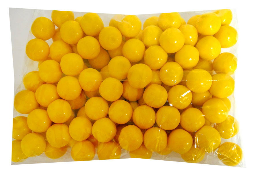 Candy Showcase Gumballs - Yellow, by Lolliland,  and more Confectionery at The Professors Online Lolly Shop. (Image Number :14432)