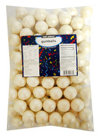 Candy Showcase  Gumballs - White Shimmer (907g Bag)