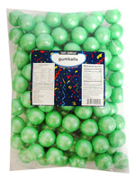 Candy Showcase Gumballs - Turquoise (907g Bag)