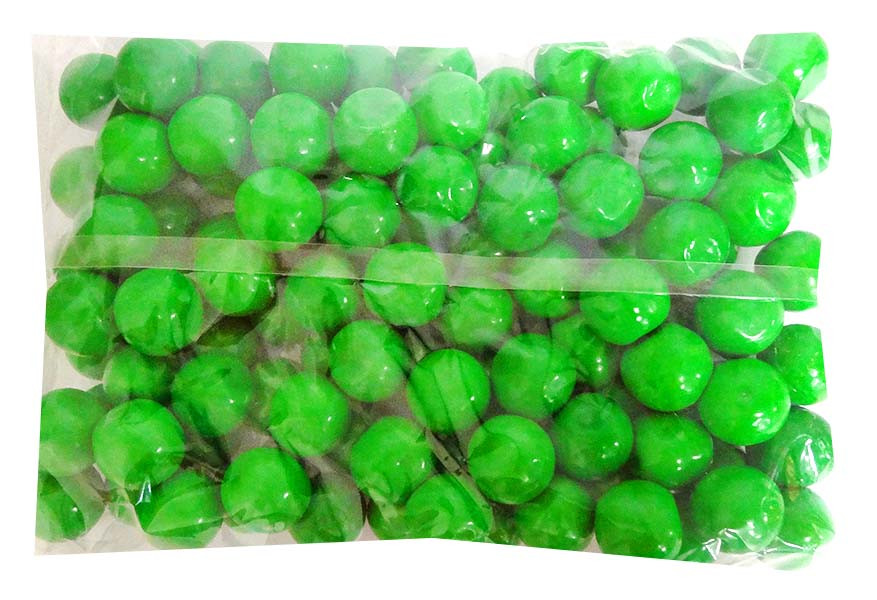 Candy Showcase Gumballs - Dark Green, by Lolliland,  and more Confectionery at The Professors Online Lolly Shop. (Image Number :14414)