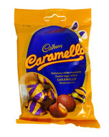 Cadbury Caramello eggs, by Cadbury,  and more Confectionery at The Professors Online Lolly Shop. (Image Number :14378)
