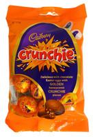 Cadbury Crunchie Eggs, by Cadbury,  and more Confectionery at The Professors Online Lolly Shop. (Image Number :14385)