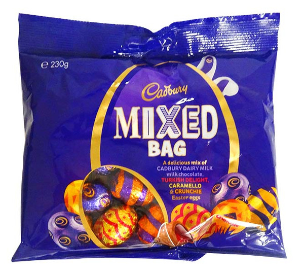 Cadbury Mixed Bag, by Cadbury,  and more Confectionery at The Professors Online Lolly Shop. (Image Number :14401)