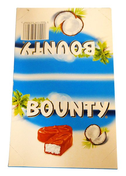 Bounty Bars Milk-Chocolate, by Mars/Wrigley,  and more Confectionery at The Professors Online Lolly Shop. (Image Number :14375)