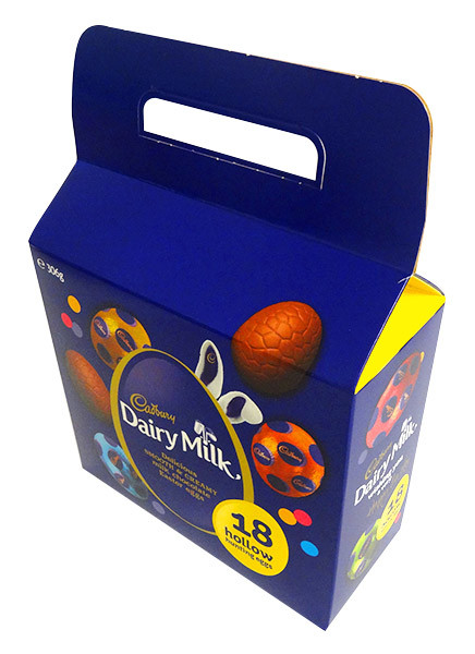 Cadbury Milk Chocolate Egg Carry Bag, by Cadbury,  and more Confectionery at The Professors Online Lolly Shop. (Image Number :14398)