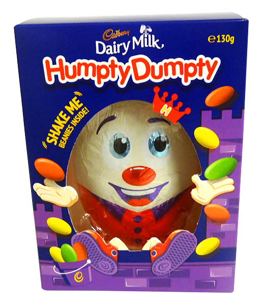 Cadbury Humpty Egg Gift Box, by Cadbury,  and more Confectionery at The Professors Online Lolly Shop. (Image Number :14393)