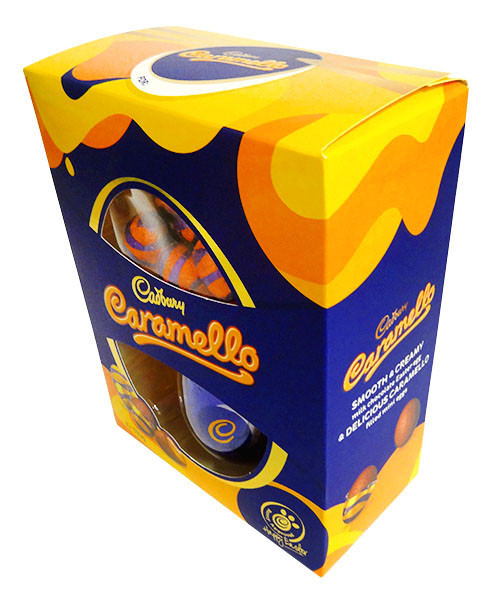 Cadbury Caramello Egg Gift Box, by Cadbury,  and more Confectionery at The Professors Online Lolly Shop. (Image Number :14377)