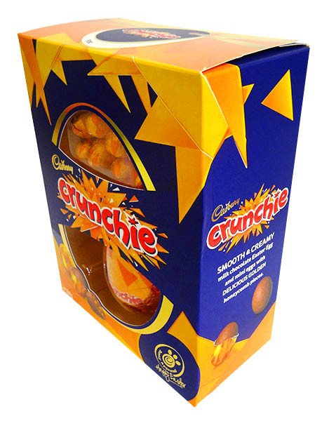 Cadbury Crunchie Egg Gift Box, by Cadbury,  and more Confectionery at The Professors Online Lolly Shop. (Image Number :14384)
