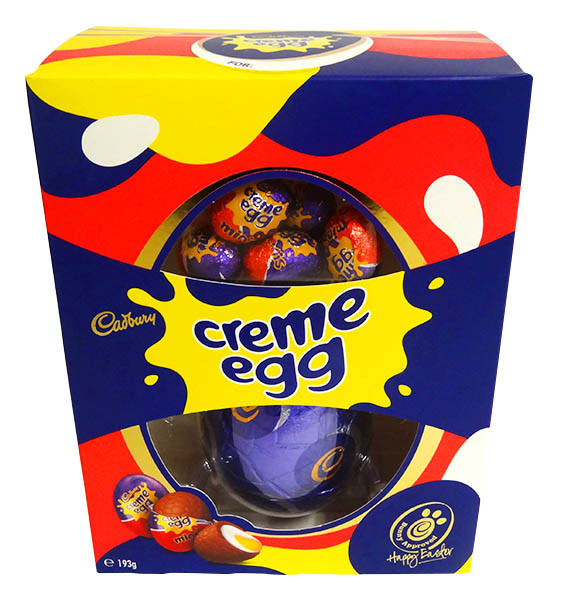 Cadbury Creme Egg Gift Box, by Cadbury,  and more Confectionery at The Professors Online Lolly Shop. (Image Number :14380)