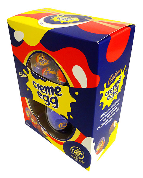 Cadbury Creme Egg Gift Box, by Cadbury,  and more Confectionery at The Professors Online Lolly Shop. (Image Number :14381)