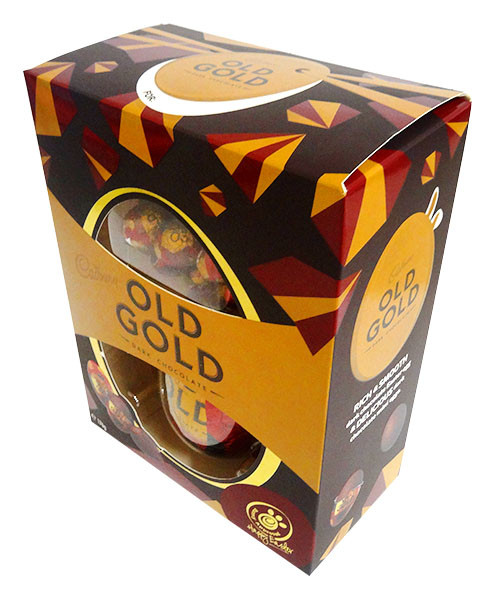 Cadbury Old Gold Egg Gift Box, by Cadbury,  and more Confectionery at The Professors Online Lolly Shop. (Image Number :14403)