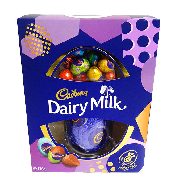 Cadbury Dairy Milk Egg Gift Box, by Cadbury,  and more Confectionery at The Professors Online Lolly Shop. (Image Number :14386)