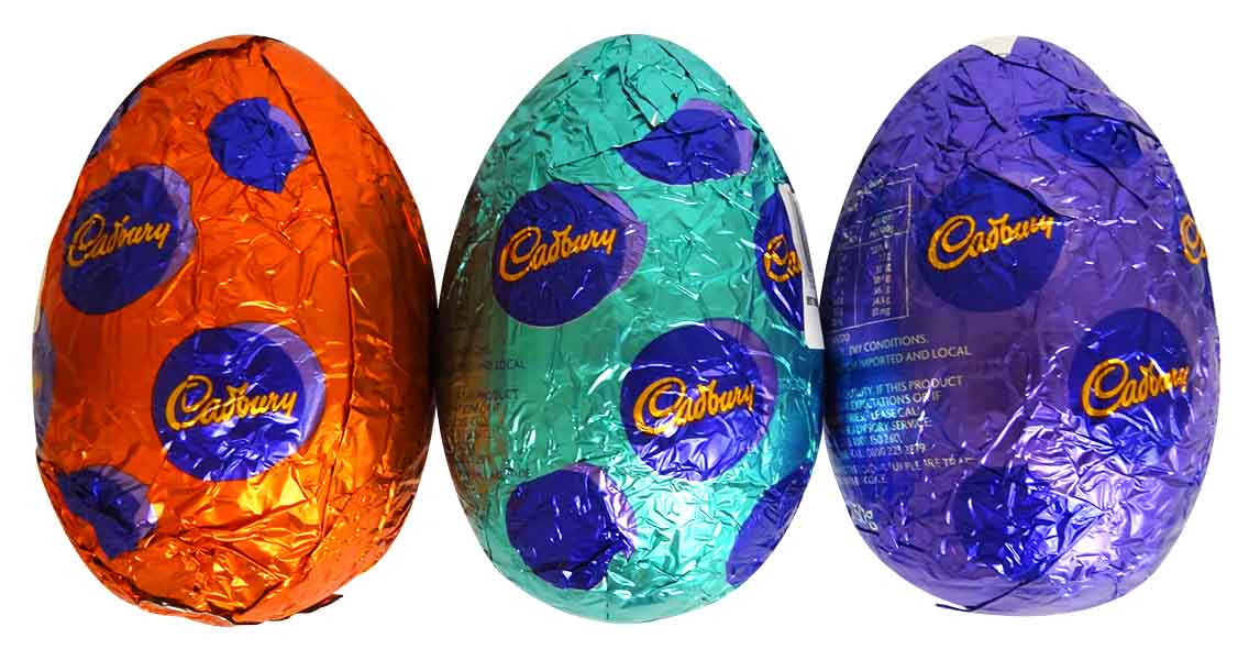 Cadbury Dairy Milk Hollow Egg - Single, by Cadbury,  and more Confectionery at The Professors Online Lolly Shop. (Image Number :14390)