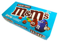 M&M Hazelnut Spread Chocolate Candies, by Mars,  and more Confectionery at The Professors Online Lolly Shop. (Image Number :14539)