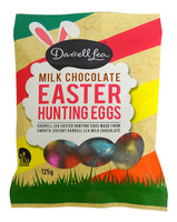 Darrell Lea Milk Chocolate Foiled Hunting  Eggs ( 125g bag)
