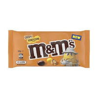 M&M Crispy Honeycomb, by Mars,  and more Confectionery at The Professors Online Lolly Shop. (Image Number :14453)