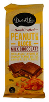 Darrell Lea Peanut Brittle Chocolate Block at The Professors Online Lolly Shop. (Image Number :14441)