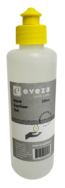 Eveza Hand Sanitiser Gel and more Other at The Professors Online Lolly Shop. (Image Number :14600)