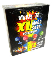 Dynamite XL Sour Lollipops (25g x 80pc display box)
