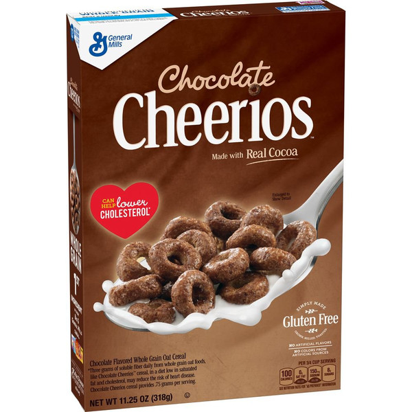 Cheerios Chocolate and more Snack Foods at The Professors Online Lolly Shop. (Image Number :14485)