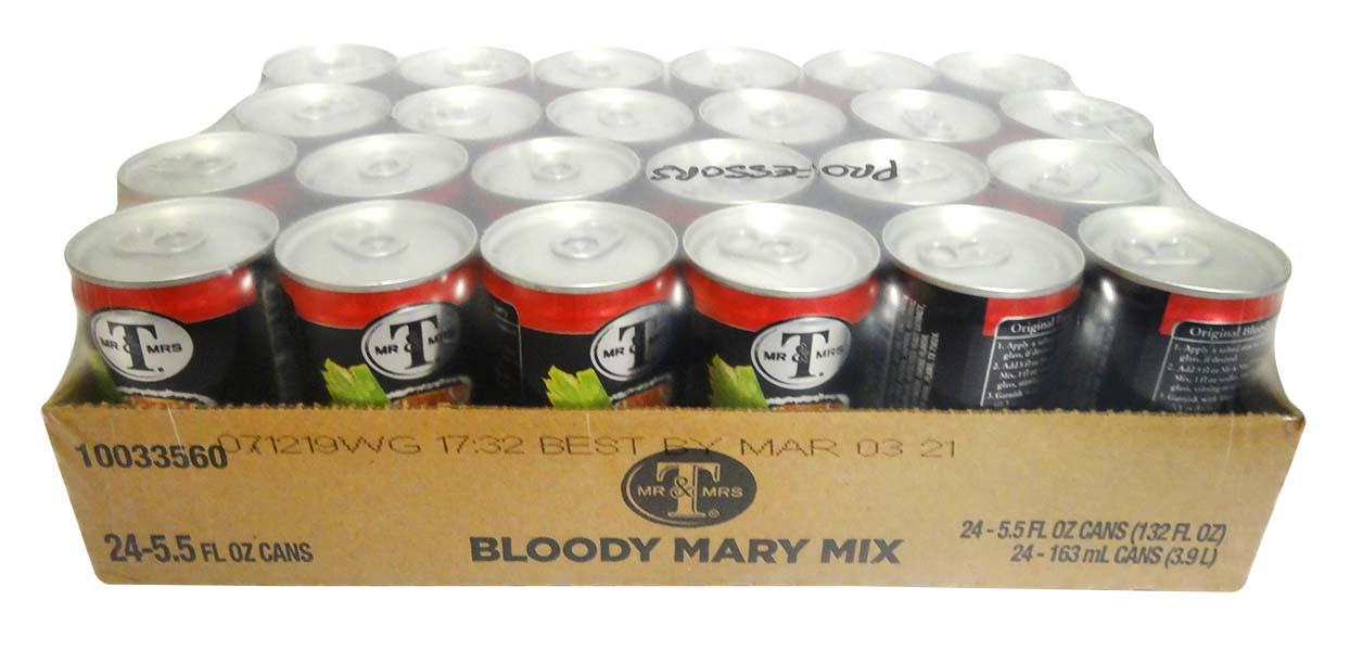 Mr & Mrs T - Bloody Mary Mix and more Beverages at The Professors Online Lolly Shop. (Image Number :14632)