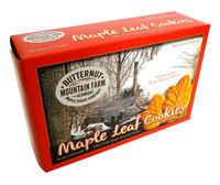 Maple Leaf Cream Cookies (400g box)