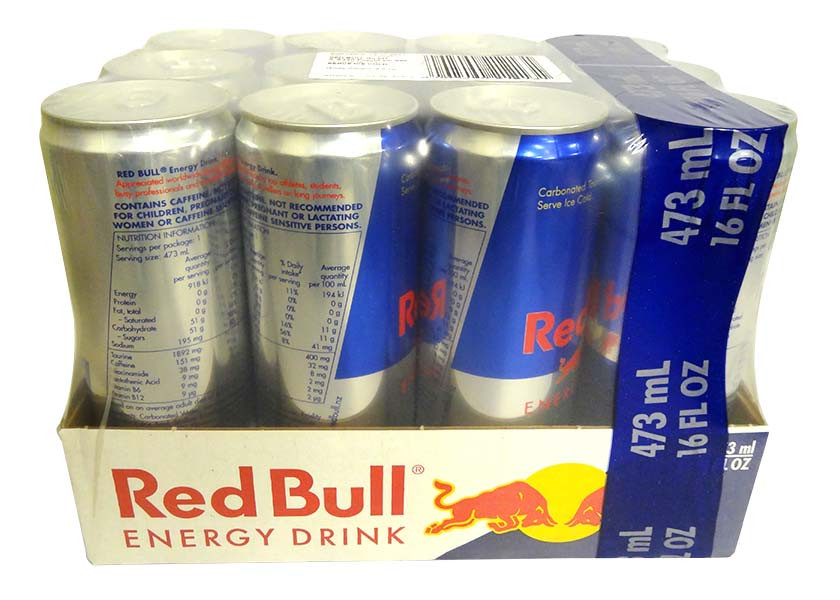Red Bull Energy Drink - Large Cans and more Beverages at The Professors Online Lolly Shop. (Image Number :14625)
