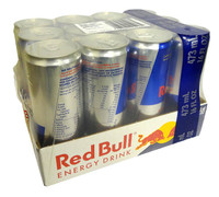 Red Bull Energy Drink - Large Cans (473ml x 12cans)