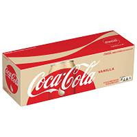 Coca-Cola - Vanilla (12 x 355ml Cans in a Display Unit)