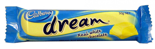 Cadbury Dream Bar, by Cadbury,  and more Confectionery at The Professors Online Lolly Shop. (Image Number :8928)