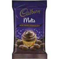 Cadbury Melts  - Dark Chocolate and more Other at The Professors Online Lolly Shop. (Image Number :14794)