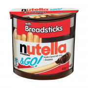 Nutella & Go - Breadsticks and more Snack Foods at The Professors Online Lolly Shop. (Image Number :14803)