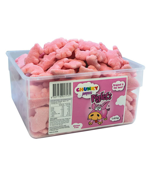 Chunky Funkeez Piglets, by vidal,  and more Confectionery at The Professors Online Lolly Shop. (Image Number :14888)