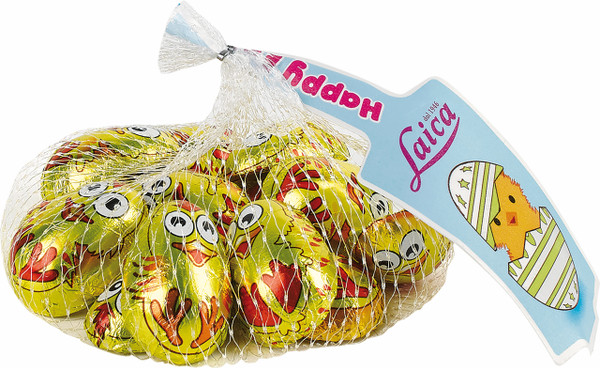 Easter Chicks Net - Milk Chocolate and more Confectionery at The Professors Online Lolly Shop. (Image Number :14951)