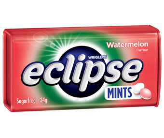 Eclipse Mints - Watermelon  - Half Pack and more Confectionery at The Professors Online Lolly Shop. (Image Number :14961)